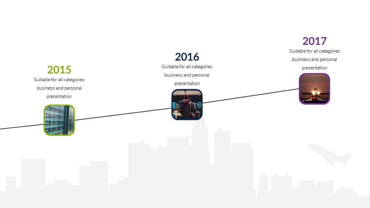 Airwaves - Airlines Powerpoint Template, Slide 8, 06372, Business Models — PoweredTemplate.com