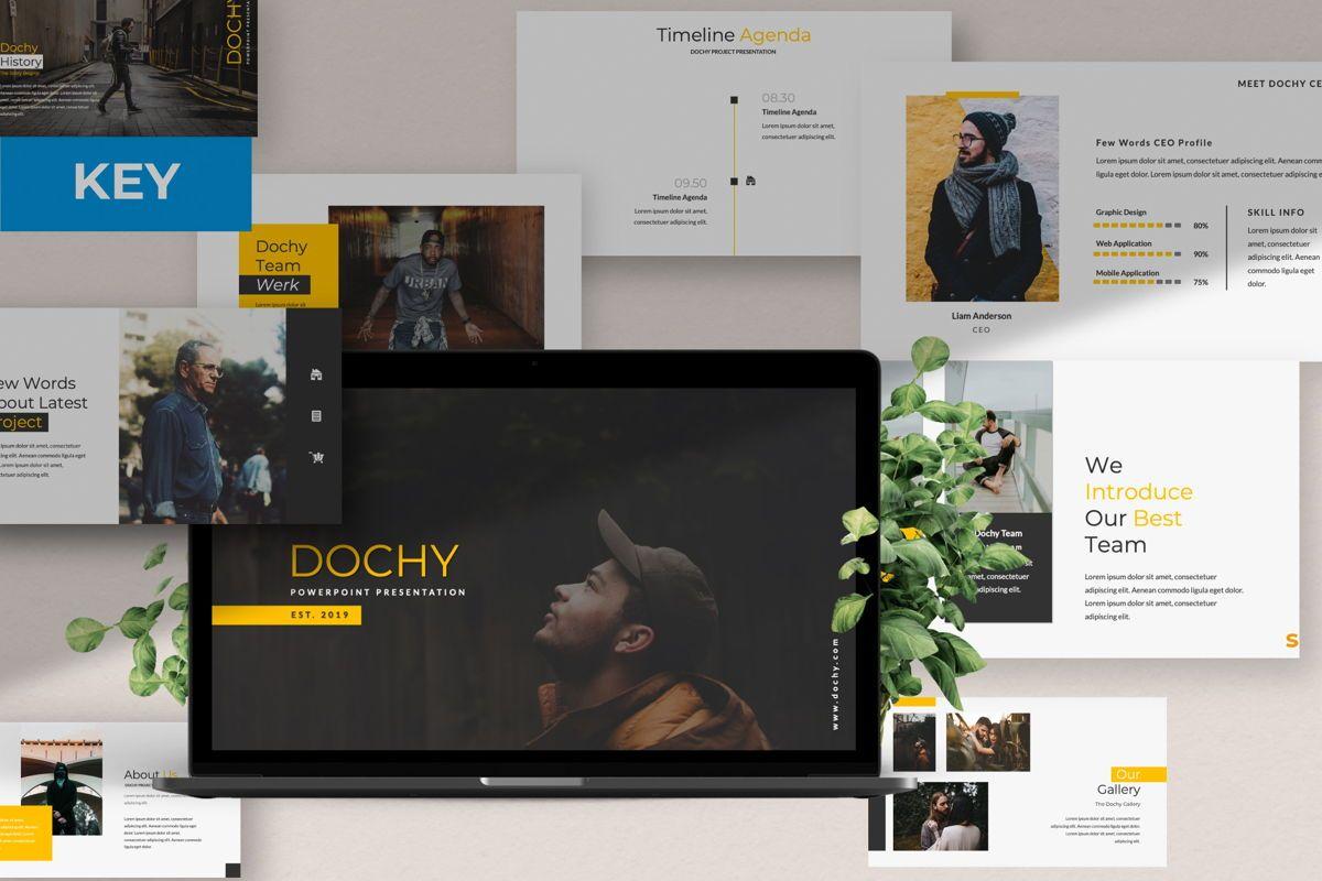 Dochy Creative Keynote, 06374, Presentation Templates — PoweredTemplate.com