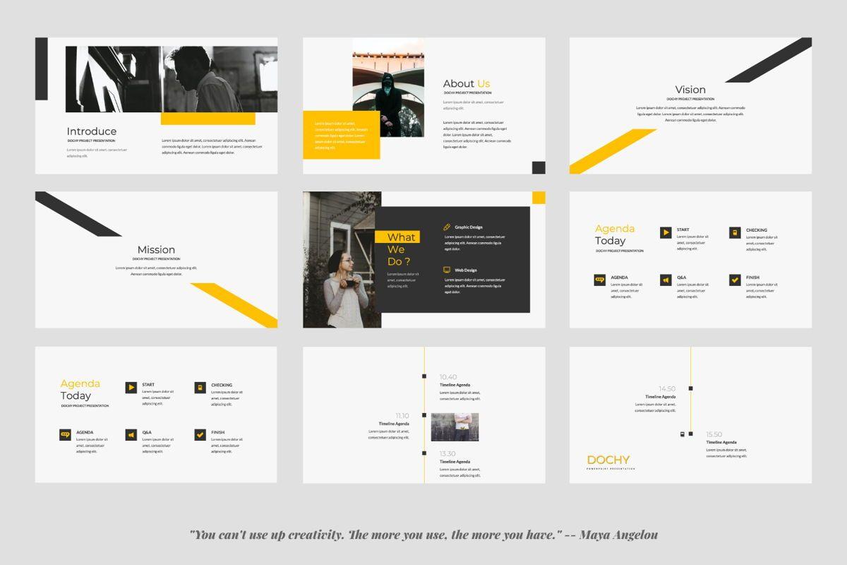 Dochy Creative Google Slide, Slide 2, 06375, Presentation Templates — PoweredTemplate.com