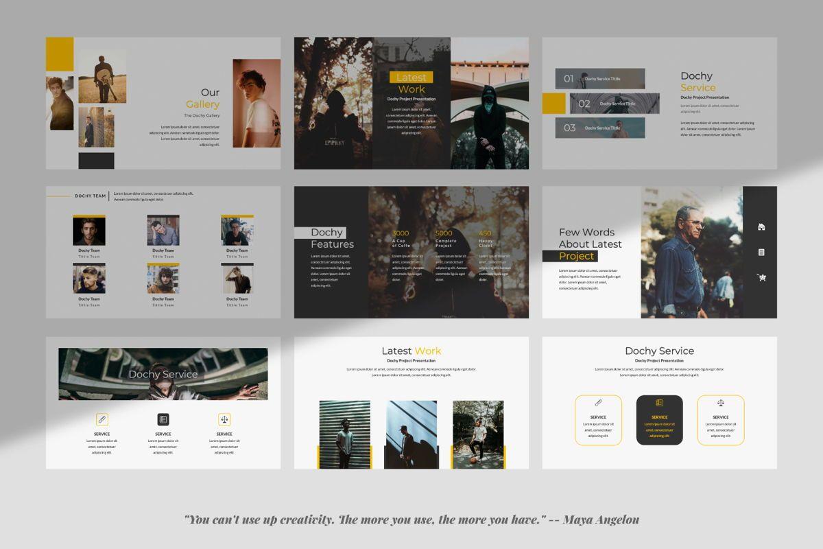 Dochy Creative Google Slide, Slide 3, 06375, Presentation Templates — PoweredTemplate.com