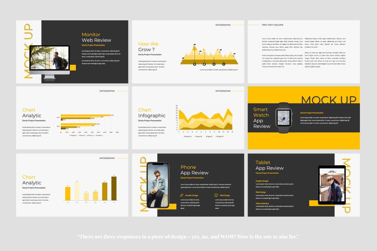 Dochy Creative Google Slide, Slide 4, 06375, Presentation Templates — PoweredTemplate.com