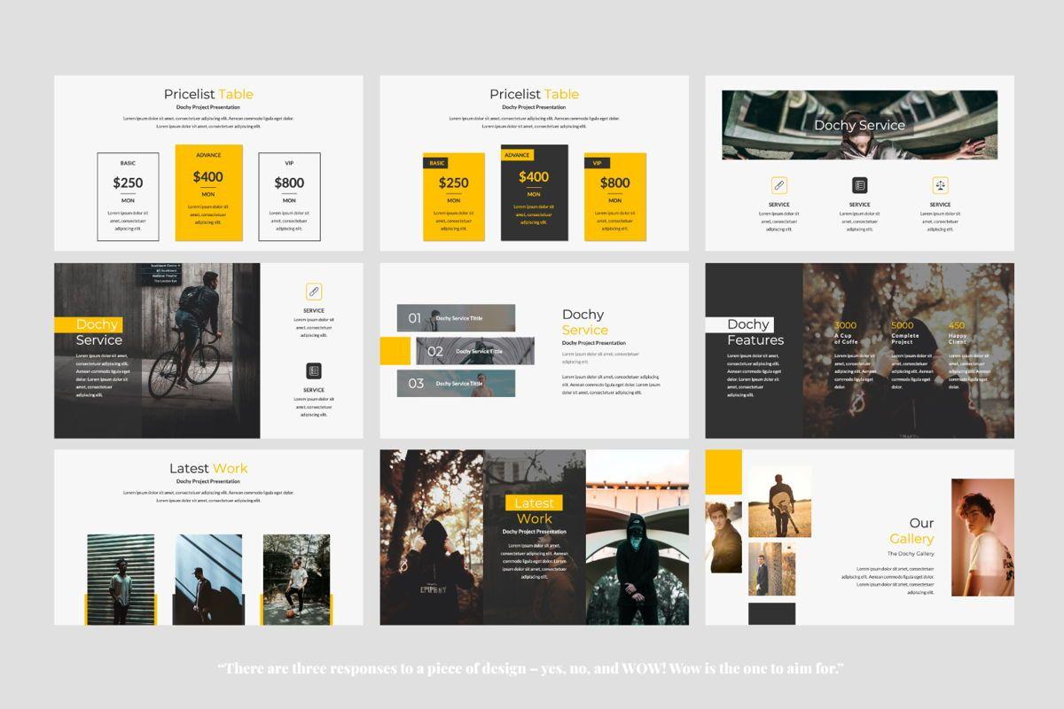 Dochy Creative Google Slide, Slide 5, 06375, Presentation Templates — PoweredTemplate.com