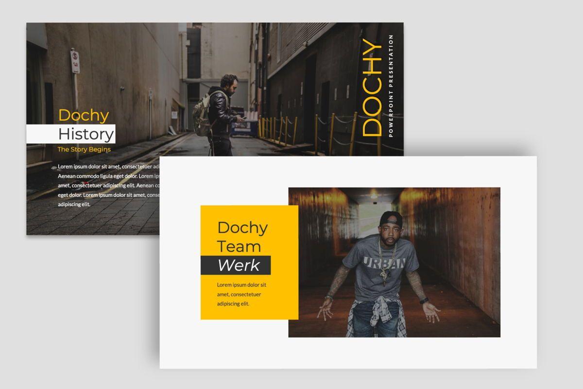 Dochy Creative Google Slide, Slide 6, 06375, Presentation Templates — PoweredTemplate.com