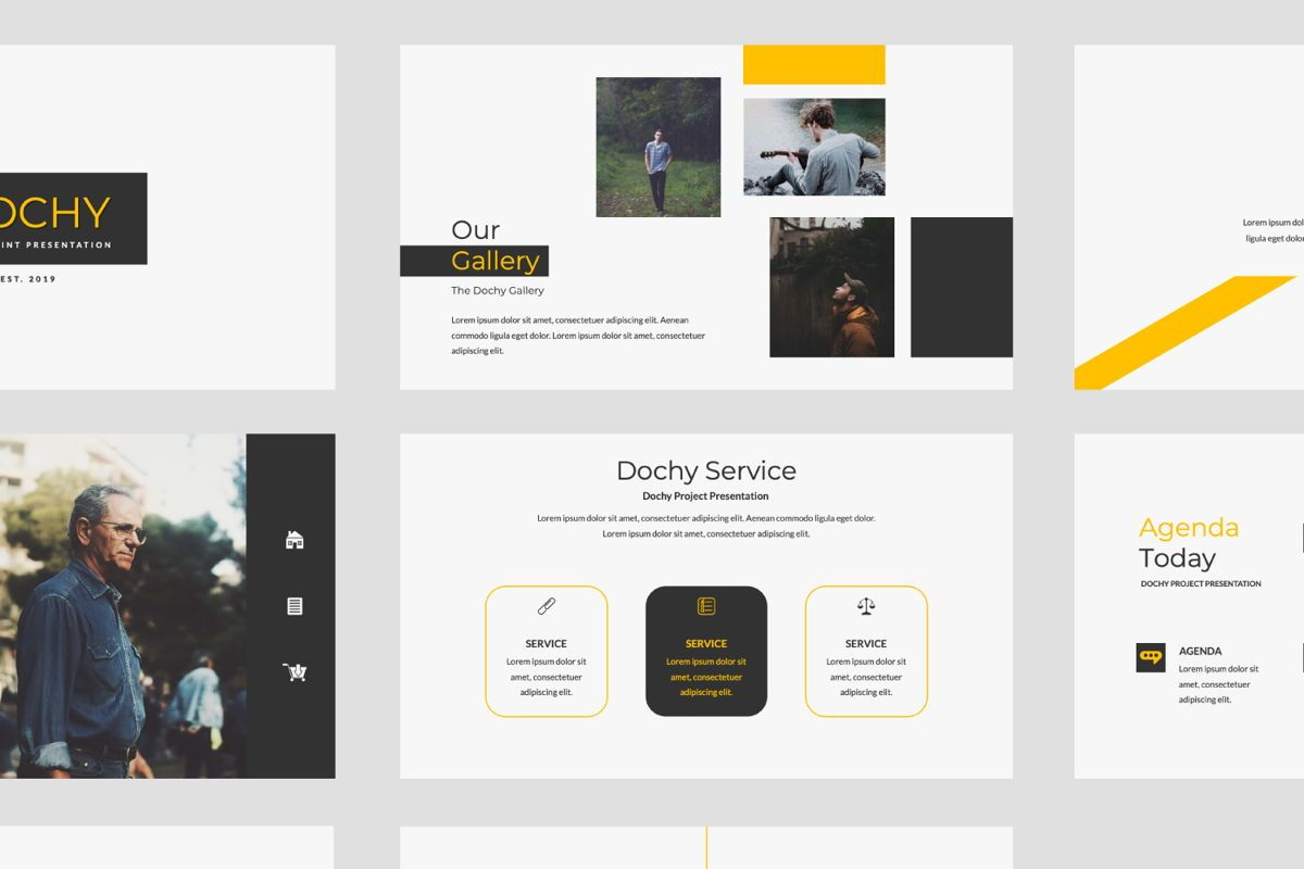Dochy Creative Google Slide, Slide 7, 06375, Presentation Templates — PoweredTemplate.com