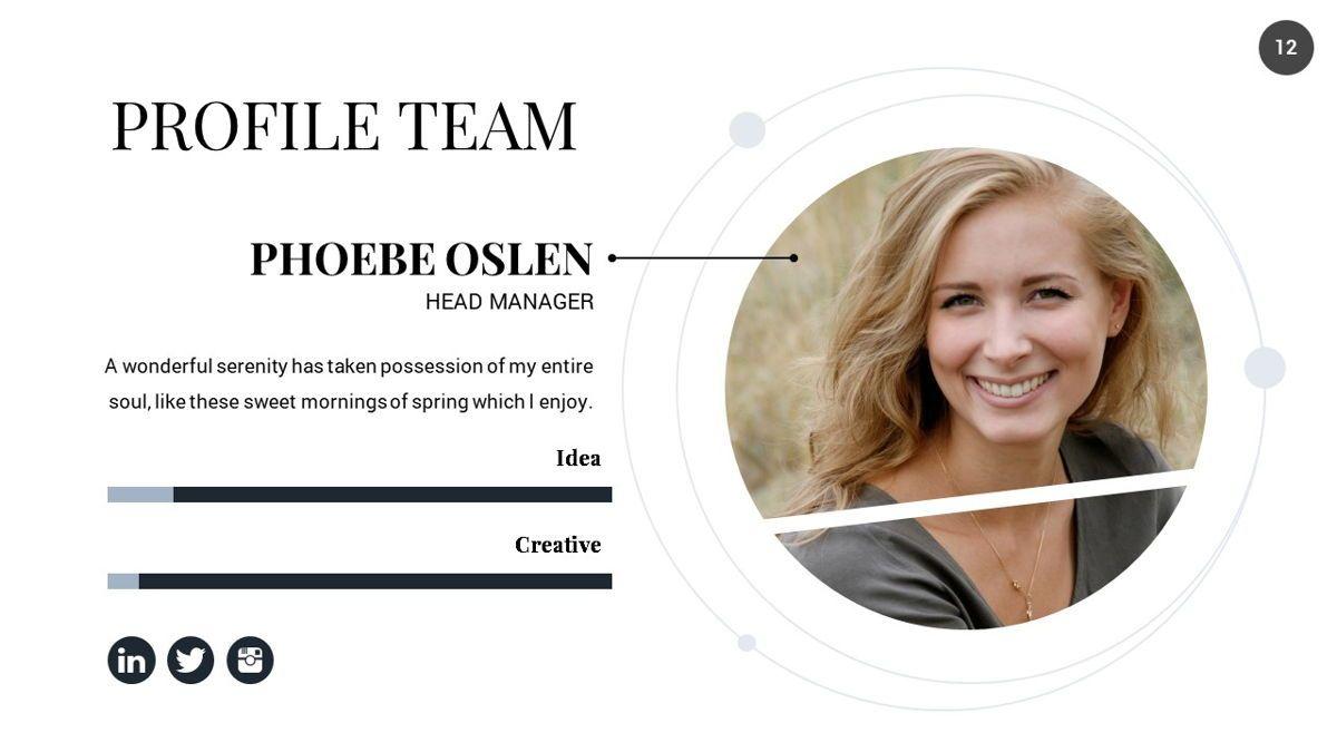 Orbit - Networking Powerpoint Template, Slide 13, 06376, Business Models — PoweredTemplate.com