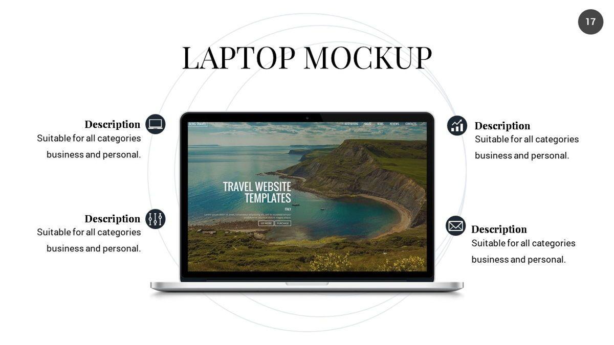 Orbit - Networking Powerpoint Template, Slide 18, 06376, Business Models — PoweredTemplate.com