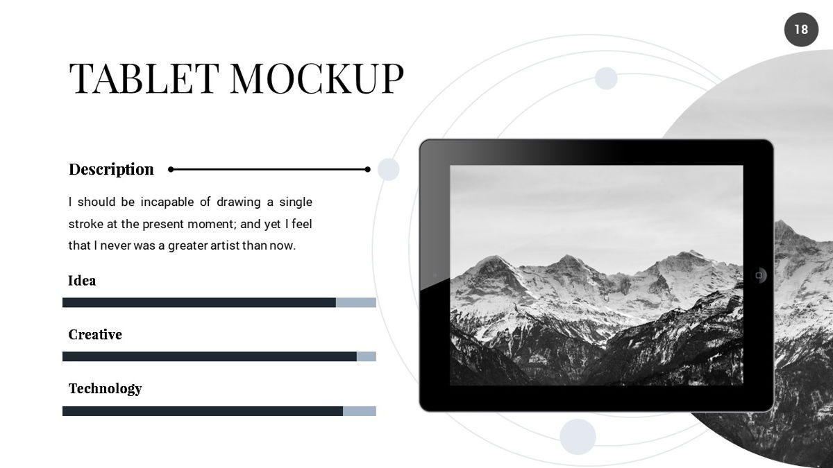 Orbit - Networking Powerpoint Template, Slide 19, 06376, Business Models — PoweredTemplate.com