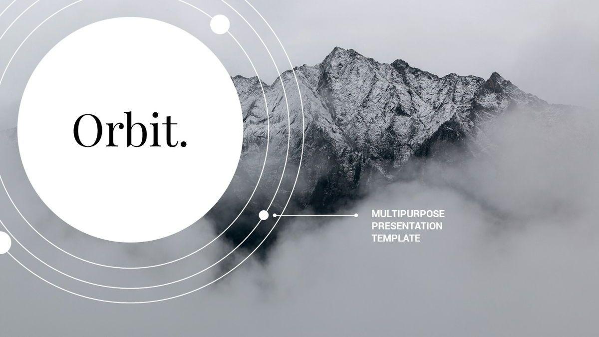 Orbit - Networking Powerpoint Template, Slide 2, 06376, Business Models — PoweredTemplate.com