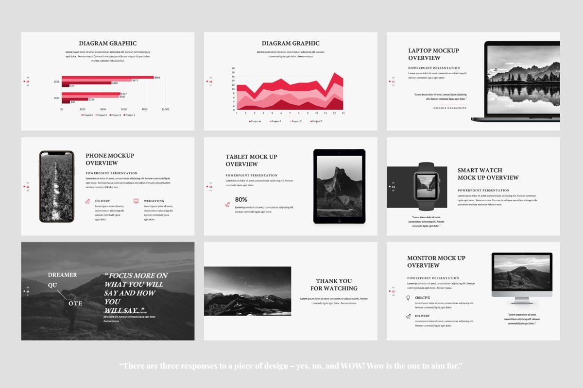 Dreamer Creative Powerpoint, Slide 6, 06377, Presentation Templates — PoweredTemplate.com