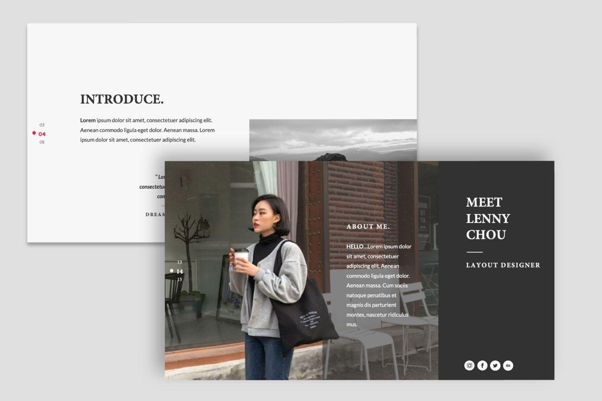 Dreamer Creative Google Slide, Slide 7, 06379, Presentation Templates — PoweredTemplate.com