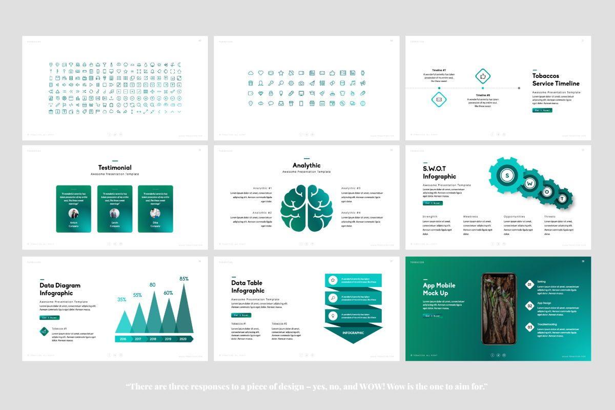 Tobaccos Creative Powerpoint, Slide 5, 06380, Presentation Templates — PoweredTemplate.com