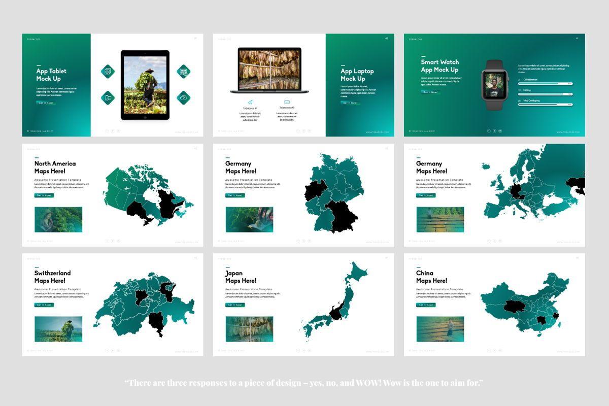 Tobaccos Creative Powerpoint, Slide 6, 06380, Presentation Templates — PoweredTemplate.com