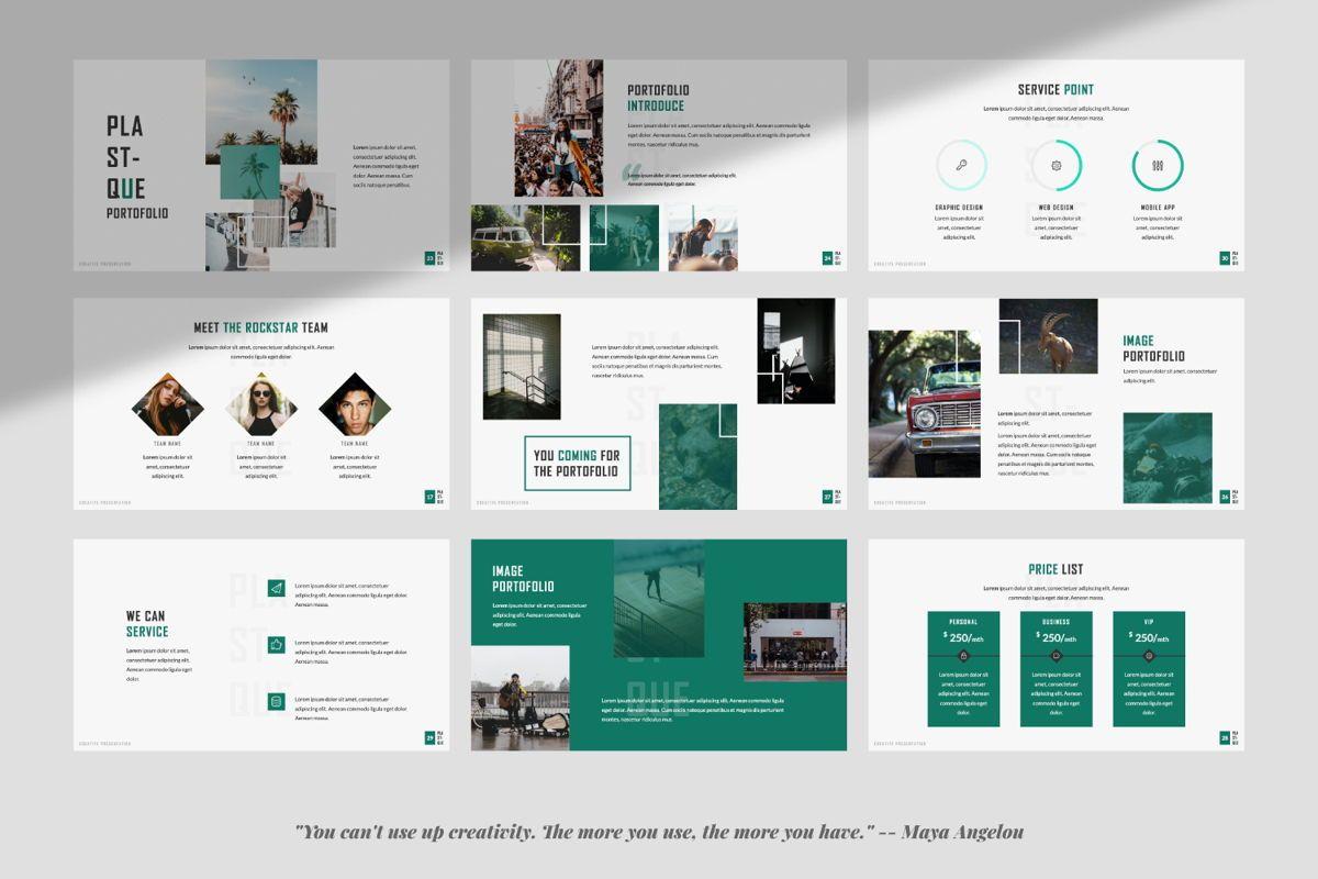 Plastique Creative Powerpoint, Slide 4, 06383, Presentation Templates — PoweredTemplate.com
