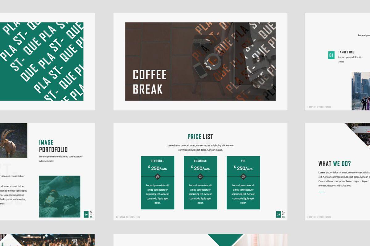 Plastique Creative Powerpoint, Slide 8, 06383, Presentation Templates — PoweredTemplate.com