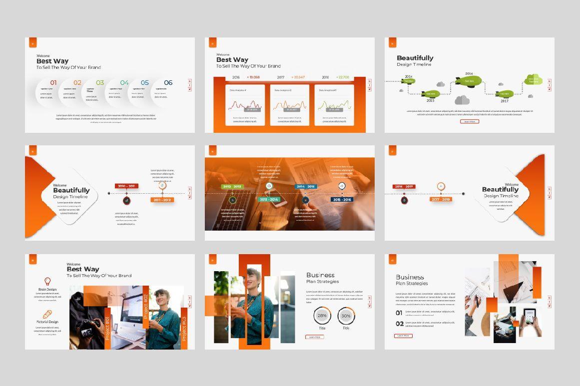 Business Creative Google Slide, Slide 5, 06386, Presentation Templates — PoweredTemplate.com
