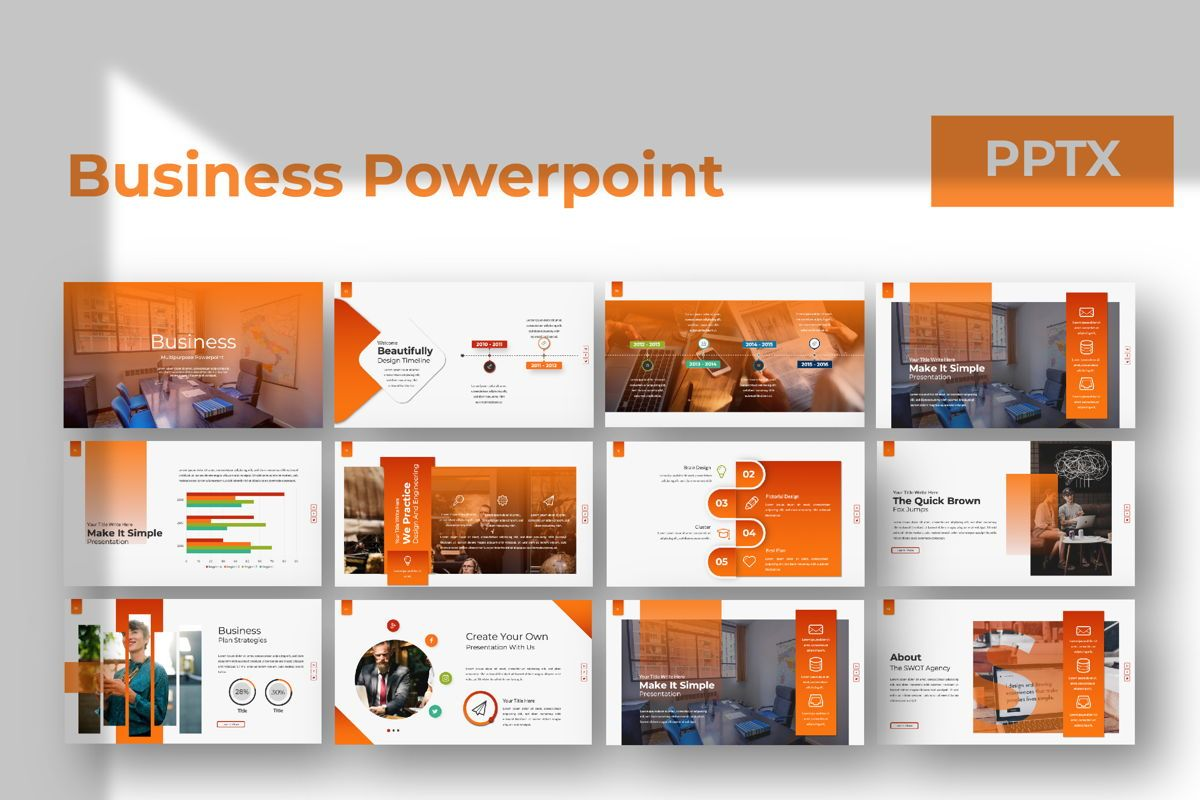 Business Creative Powerpoint, 06388, Presentation Templates — PoweredTemplate.com