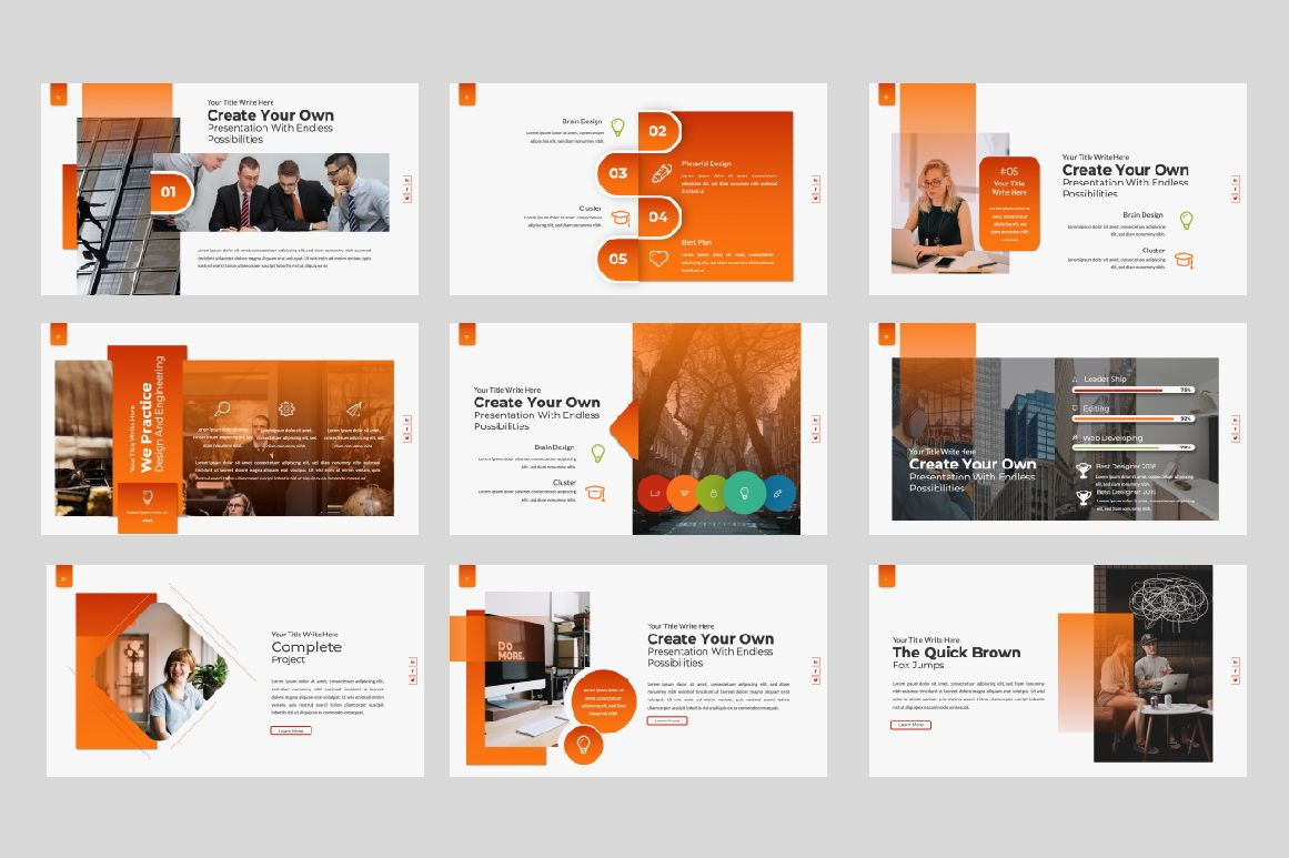 Business Creative Powerpoint, Slide 3, 06388, Presentation Templates — PoweredTemplate.com