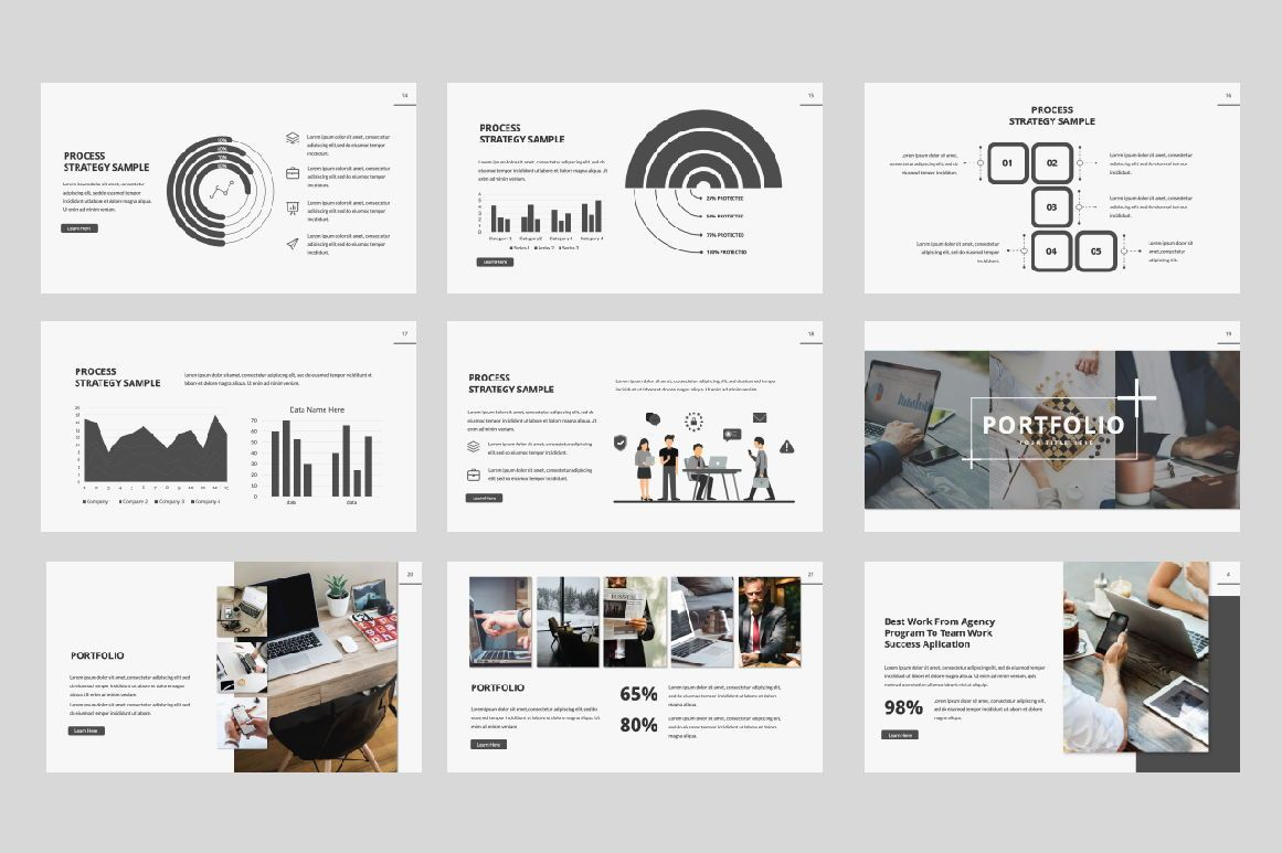 Company Creative Powerpoint, Slide 3, 06389, Presentation Templates — PoweredTemplate.com