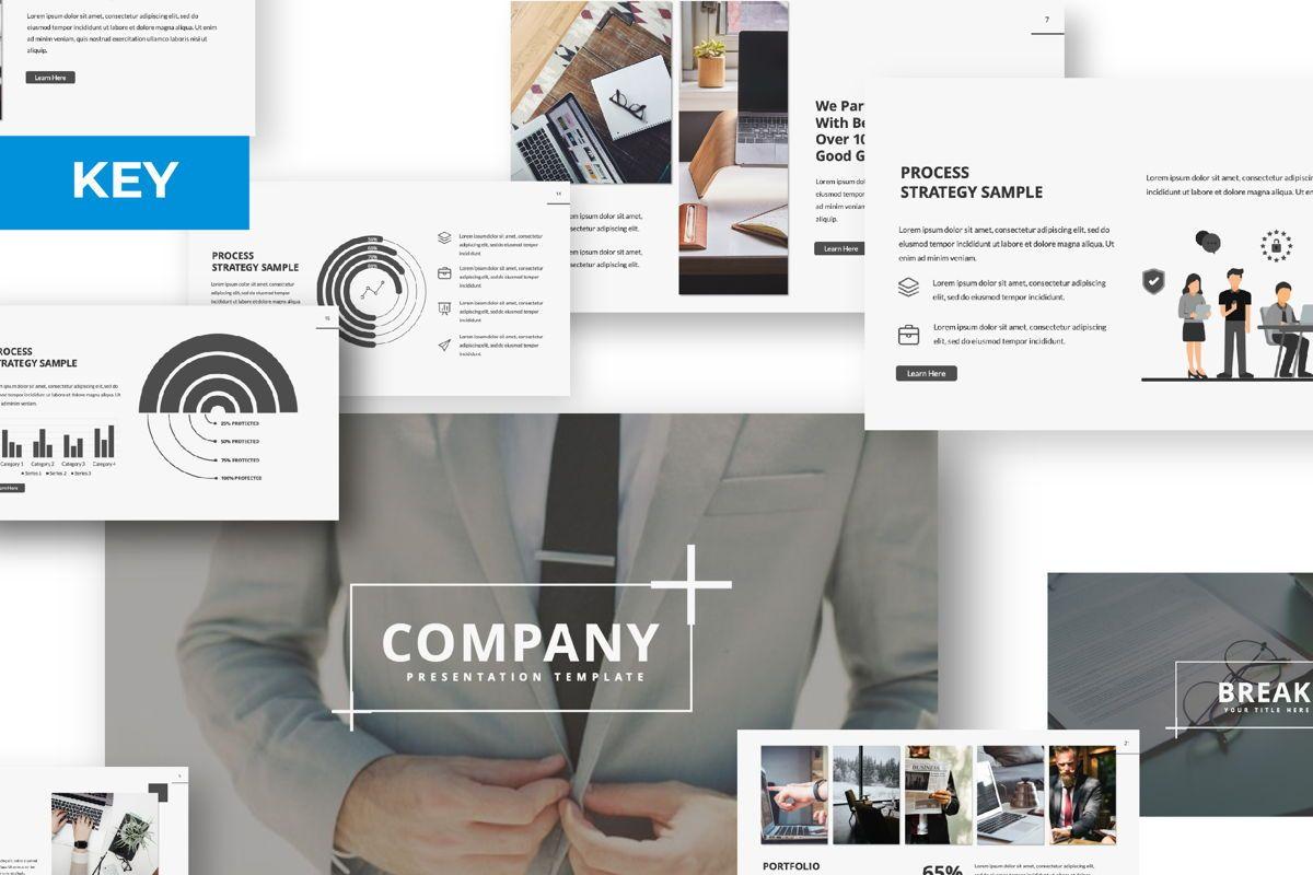 Company Creative Keynote, 06390, Presentation Templates — PoweredTemplate.com
