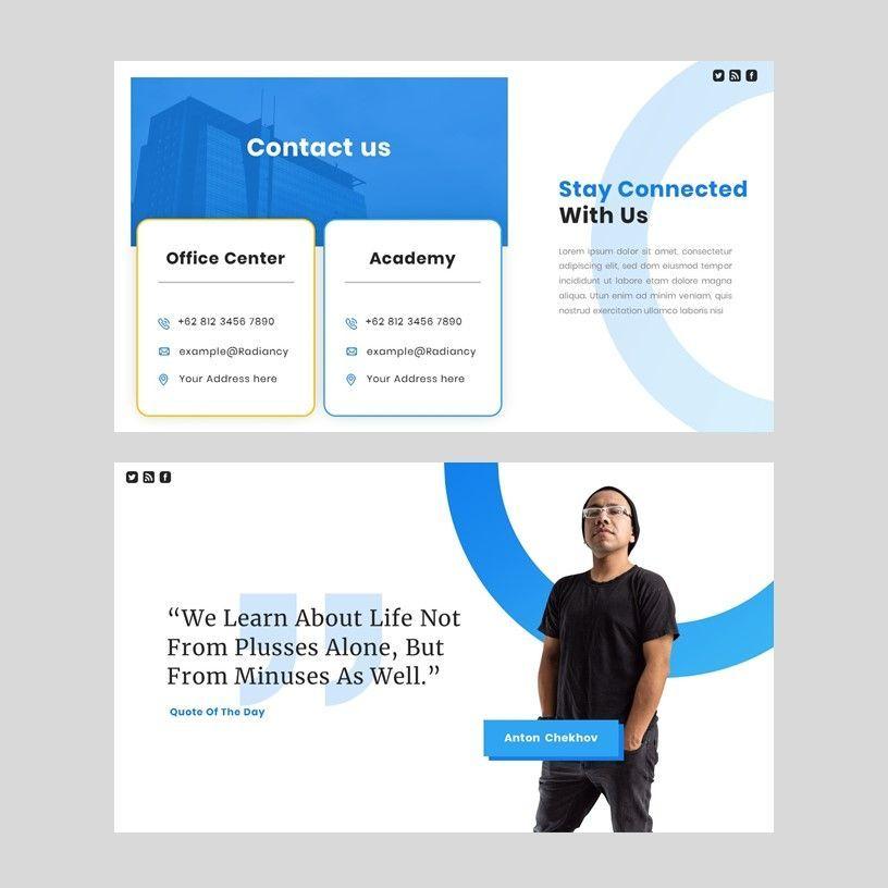 Radiancy - PowerPoint Presentation Template, Slide 10, 06392, Presentation Templates — PoweredTemplate.com