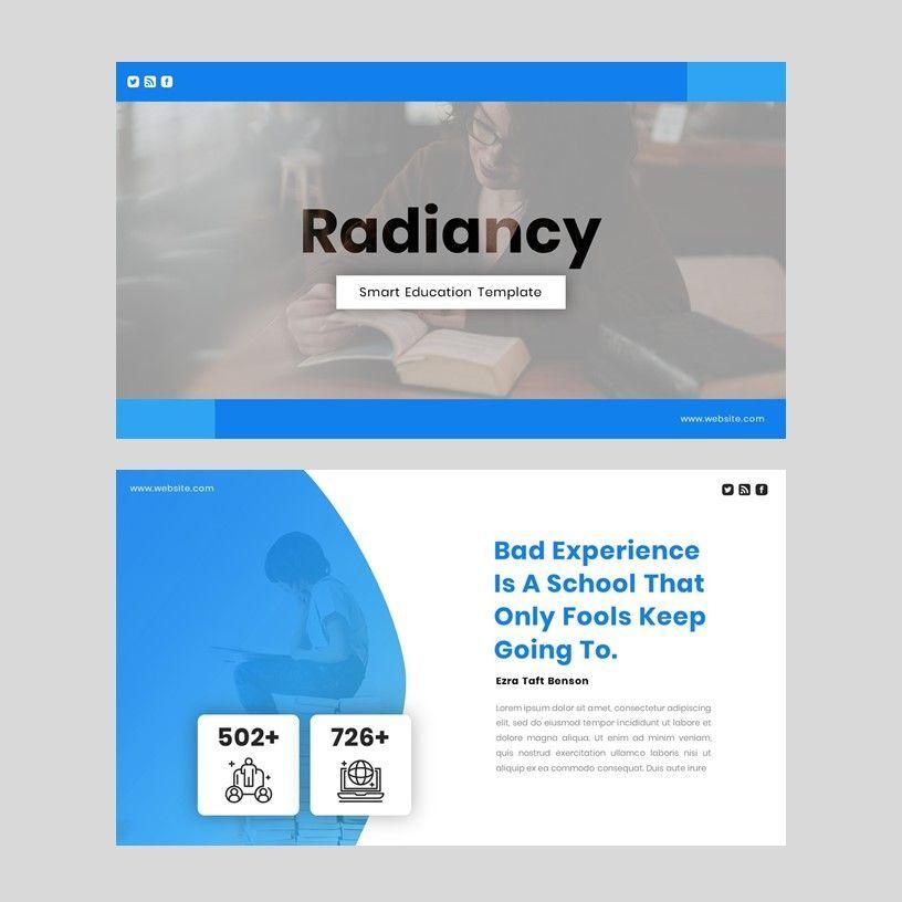 Radiancy - PowerPoint Presentation Template, Slide 2, 06392, Presentation Templates — PoweredTemplate.com