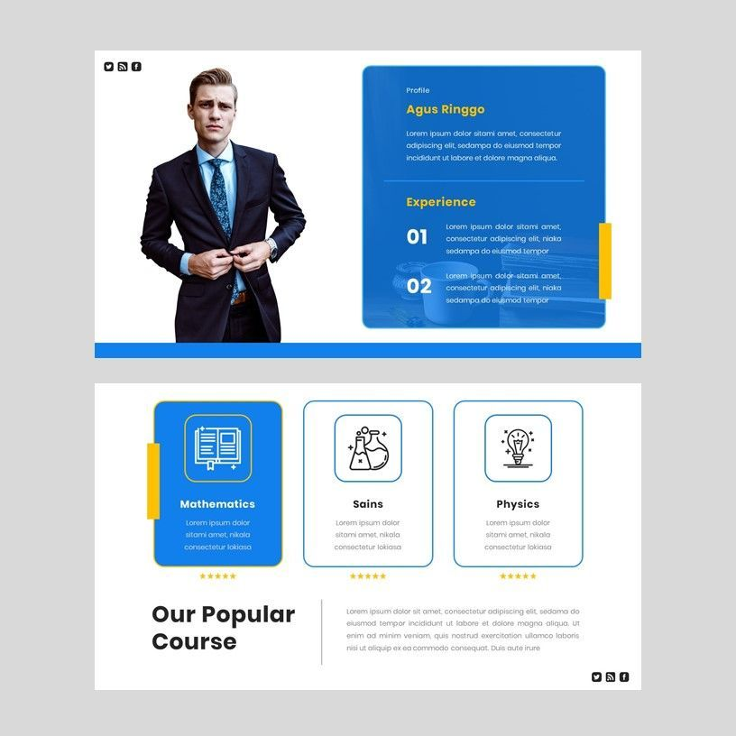 Radiancy - PowerPoint Presentation Template, Slide 5, 06392, Presentation Templates — PoweredTemplate.com