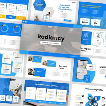 Presentation Templates: Radiancy - Google Slide Presentation Template #06393