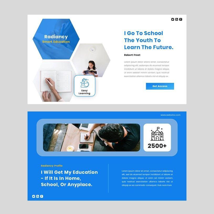 Radiancy - Google Slide Presentation Template, Slide 11, 06393, Presentation Templates — PoweredTemplate.com