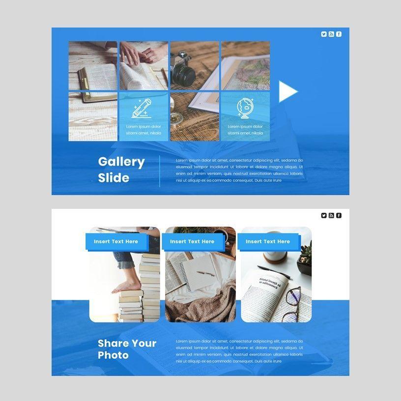 Radiancy - Google Slide Presentation Template, Slide 7, 06393, Presentation Templates — PoweredTemplate.com