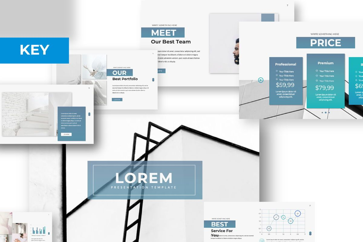 Lorem Ipsum Business Keynote, 06395, Presentation Templates — PoweredTemplate.com