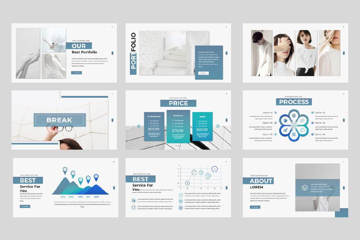 Lorem Ipsum Business Google Slide, Slide 3, 06396, Presentation Templates — PoweredTemplate.com