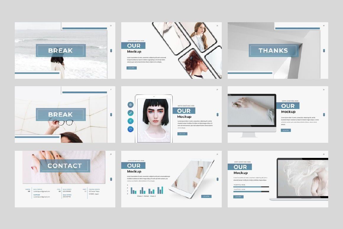 Lorem Ipsum Business Google Slide, Slide 4, 06396, Presentation Templates — PoweredTemplate.com