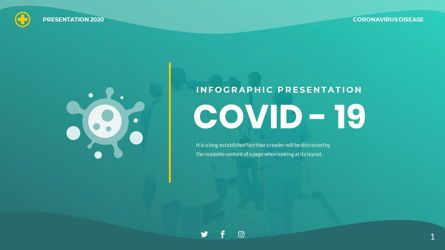 Data Driven Diagrams and Charts: COVID 19 - INFOGRAPHIC Clean Presentation Powerpoints Template #06397