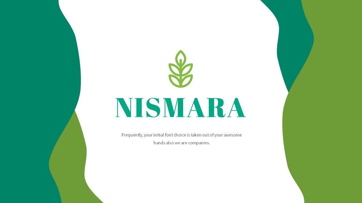 Nismara - Natural Powerpoint Template, Slide 2, 06398, Data Driven Diagrams and Charts — PoweredTemplate.com