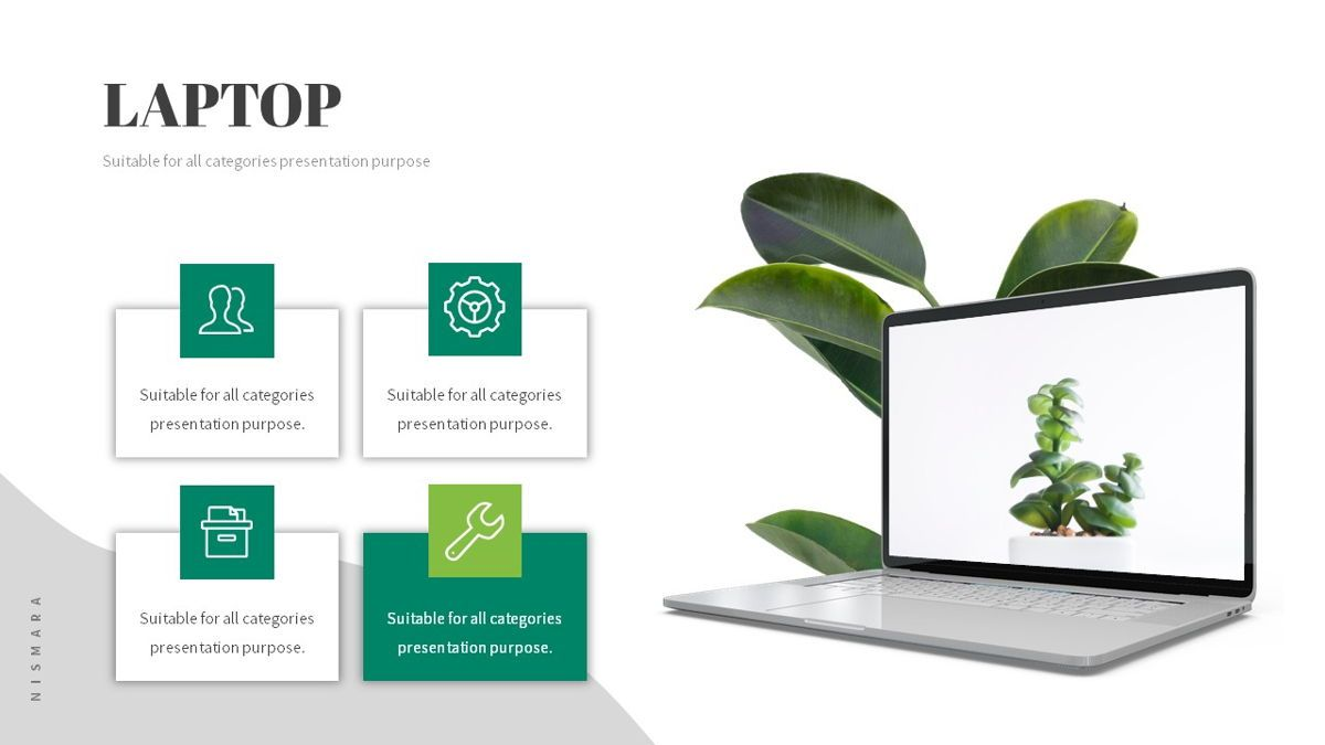 Nismara - Natural Powerpoint Template, Slide 20, 06398, Data Driven Diagrams and Charts — PoweredTemplate.com