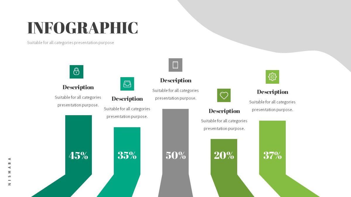 Nismara - Natural Powerpoint Template, Slide 26, 06398, Data Driven Diagrams and Charts — PoweredTemplate.com