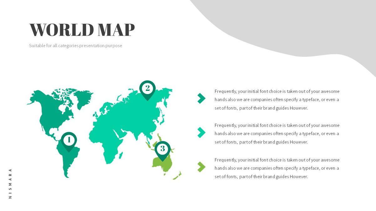 Nismara - Natural Powerpoint Template, Slide 28, 06398, Data Driven Diagrams and Charts — PoweredTemplate.com