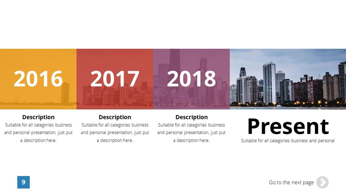 Infinity - Advertising Powerpoint Template, Slide 10, 06399, Business Models — PoweredTemplate.com