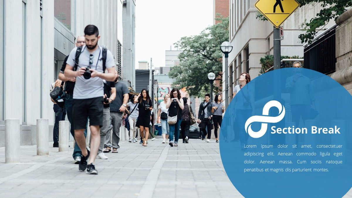 Infinity - Advertising Powerpoint Template, Slide 11, 06399, Business Models — PoweredTemplate.com