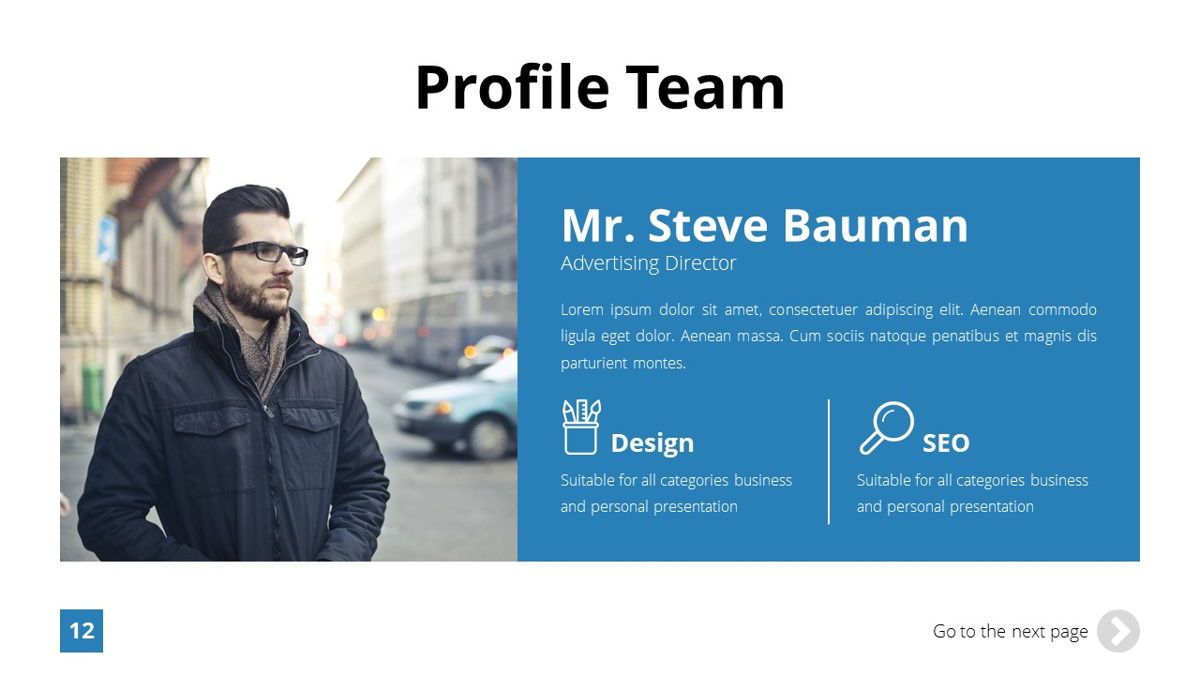 Infinity - Advertising Powerpoint Template, Slide 13, 06399, Business Models — PoweredTemplate.com