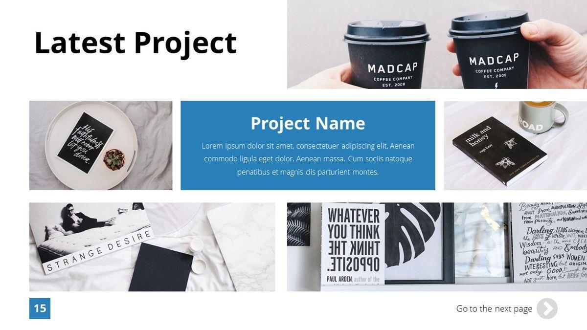 Infinity - Advertising Powerpoint Template, Slide 16, 06399, Business Models — PoweredTemplate.com