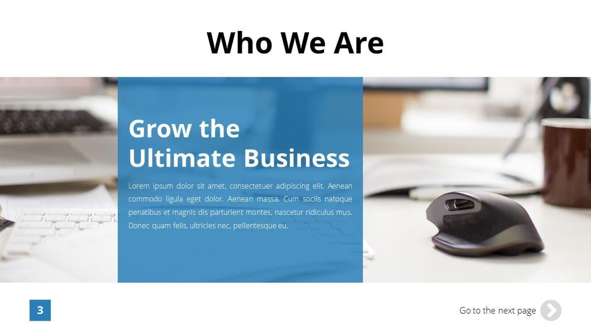 Infinity - Advertising Powerpoint Template, Slide 4, 06399, Business Models — PoweredTemplate.com