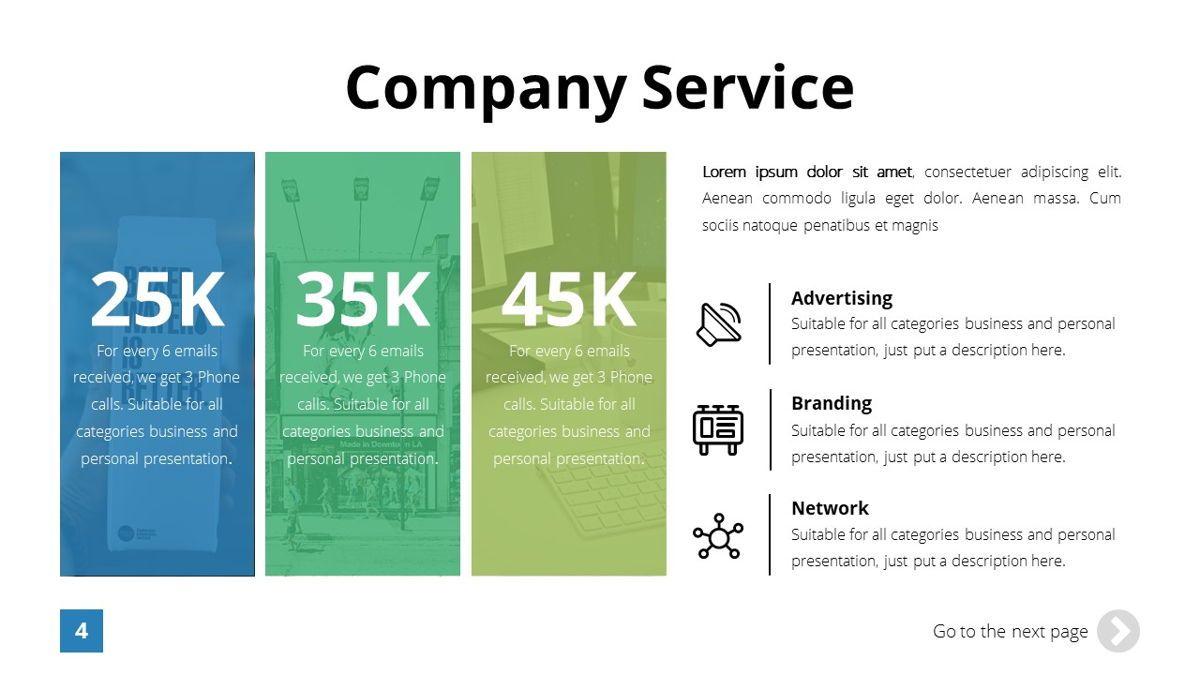 Infinity - Advertising Powerpoint Template, Slide 5, 06399, Business Models — PoweredTemplate.com