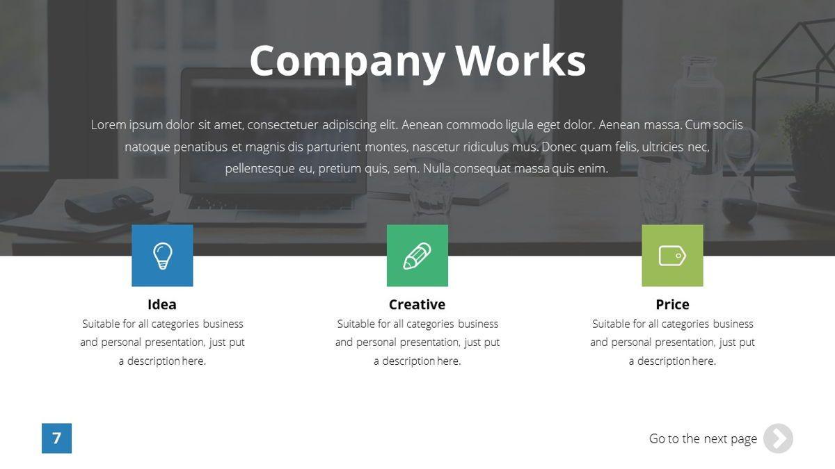 Infinity - Advertising Powerpoint Template, Slide 8, 06399, Business Models — PoweredTemplate.com