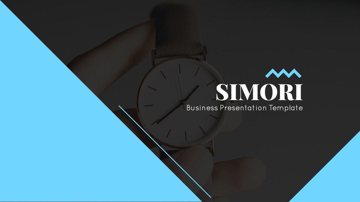 Simori - Business Powerpoint Template, Slide 2, 06401, Data Driven Diagrams and Charts — PoweredTemplate.com