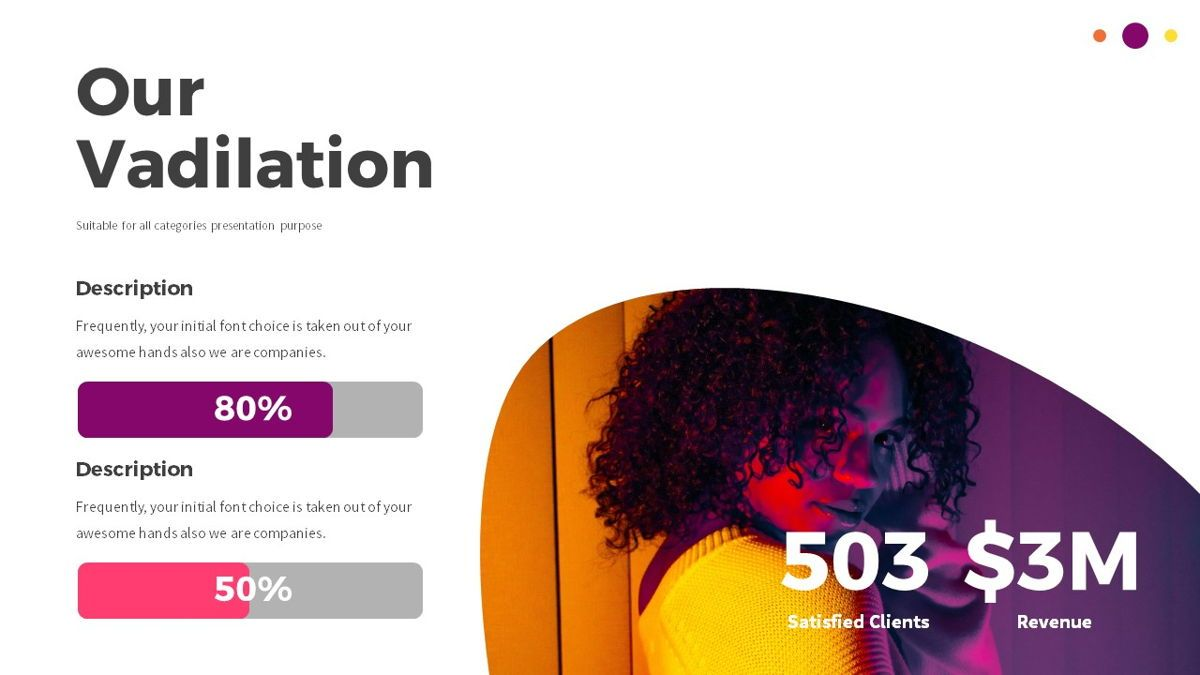 Glow - Gradient Powerpoint Template, Slide 10, 06402, Data Driven Diagrams and Charts — PoweredTemplate.com
