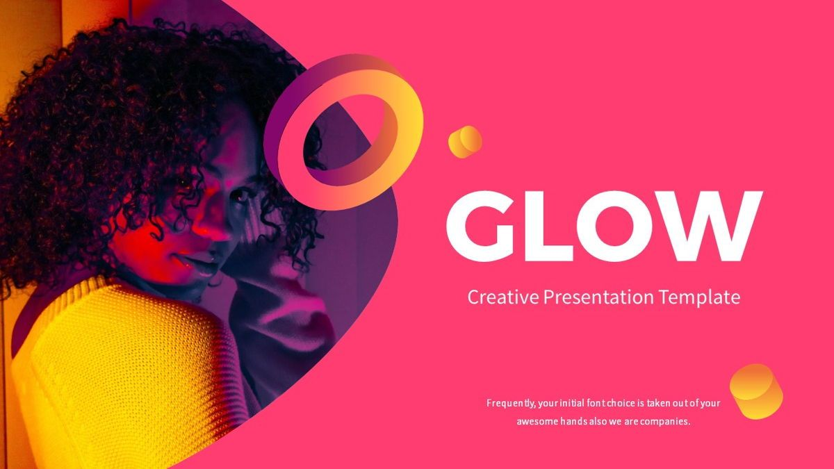 Glow - Gradient Powerpoint Template, Slide 2, 06402, Data Driven Diagrams and Charts — PoweredTemplate.com