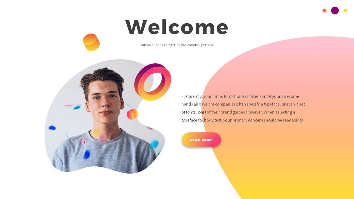 Glow - Gradient Powerpoint Template, Slide 3, 06402, Data Driven Diagrams and Charts — PoweredTemplate.com