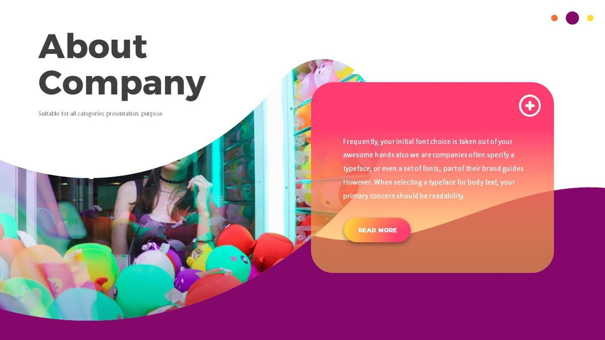 Glow - Gradient Powerpoint Template, Slide 4, 06402, Data Driven Diagrams and Charts — PoweredTemplate.com