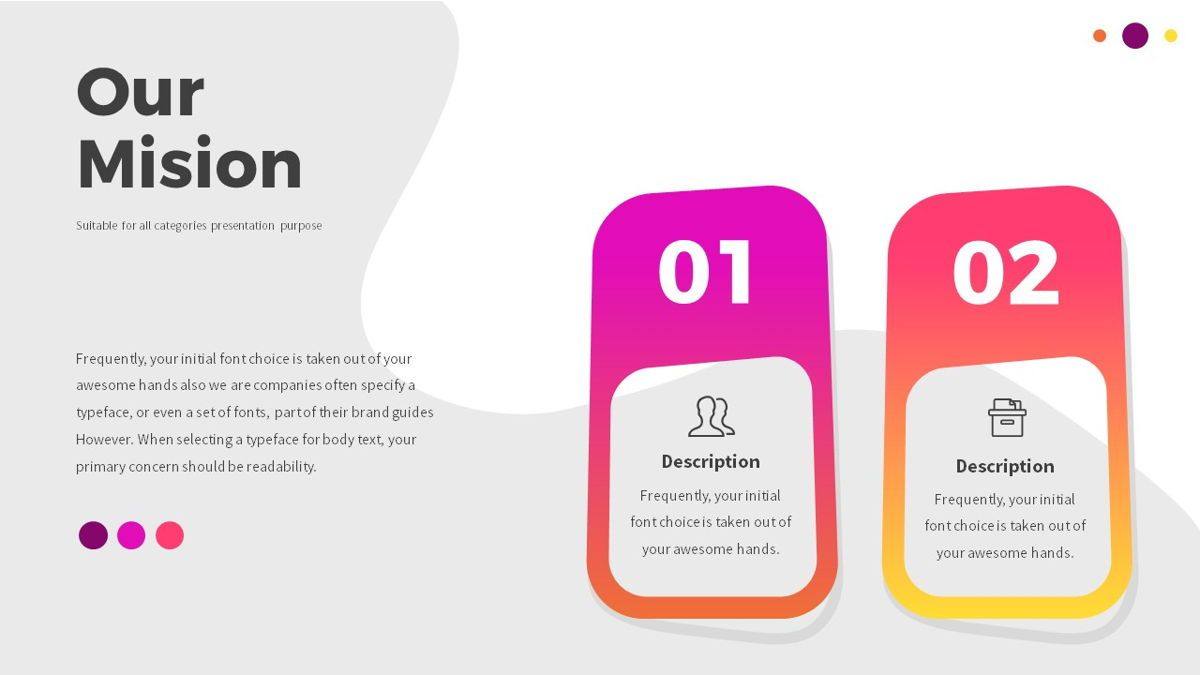 Glow - Gradient Powerpoint Template, Slide 6, 06402, Data Driven Diagrams and Charts — PoweredTemplate.com